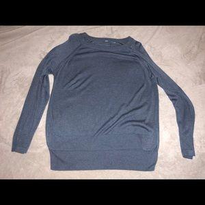 Lululemon hi-lo hem side slit sweater